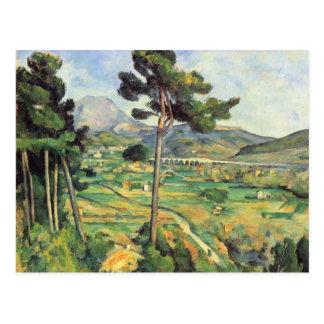 Landschaft Pauls Cezanne- mit Viaduct Postkarte