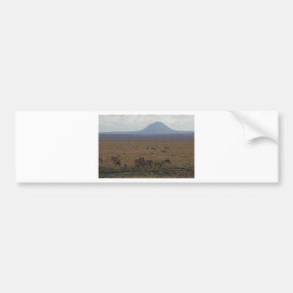 Landschaft Tansania Tom Wurl Autoaufkleber