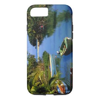 Landschaftlicher Fluss nahe Ocho Rios in Jamaika iPhone 8/7 Hülle