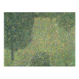 Landschaftsgarten Gustav Klimt- (Wiese in der Postkarte