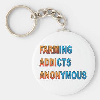 Landwirtschaft die Süchtigen anonym Schlüsselanhänger