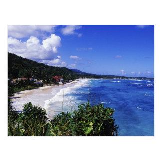 Lange Bucht, Hafen Antonio, Jamaika Postkarte