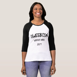 Lange Hülse des Team-Weinbrands - Nippletastic T-Shirt