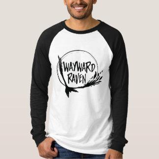 Lange Hülsen-Wayward Raben-T - Shirt