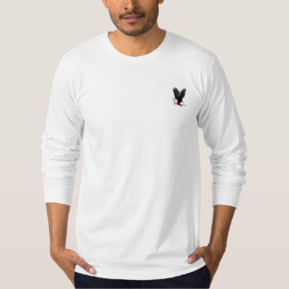 Langer Hülsen-T - Shirt des amerikanischen Adlers