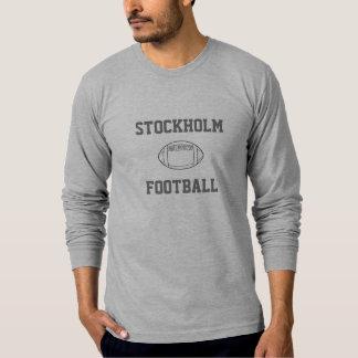Langer Hülsen-T - Shirt Stockholm-Fußballs