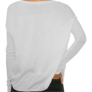 Langes Hülsen-Semikolon-Shirt T-shirt