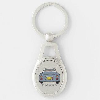 Lapis grauer Nissan Figaro kundenspezifischer Schlüsselanhänger