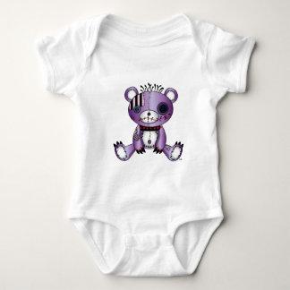 Lappen-Babiez-Teddybär-Sitzen Baby Strampler