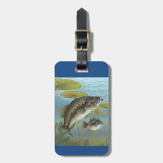 Largemouth Bass Kofferanhänger