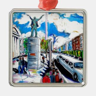 larkin Monument oconnell Straße Dublin Silbernes Ornament