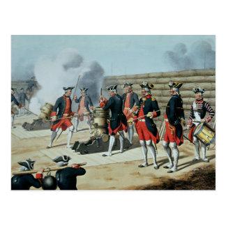 L'Artillerie Francaise durch Moltzheim Postkarte