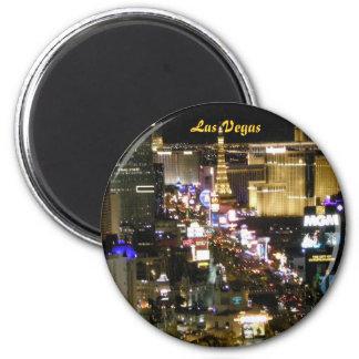 Las Vegas Boulevard Runder Magnet 5,7 Cm