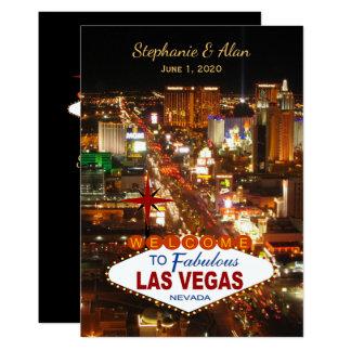 Las Vegas, das Einladung Wedding ist