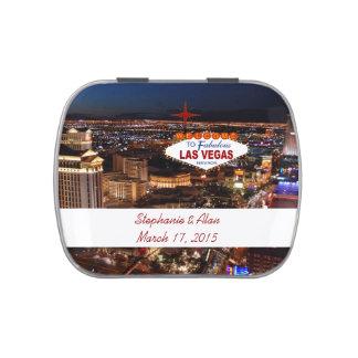 Las Vegas, das Gelee-Bauch-Süßigkeits-Zinn Wedding Süßigkeitenbox