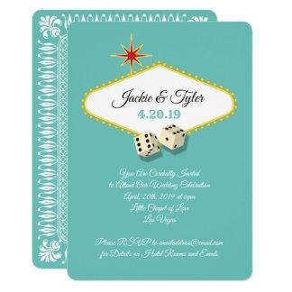 Las Vegas-Festzelt-Hochzeit im Aqua Karte