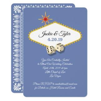 Las Vegas-Festzelt-Hochzeit im Hydrangea Karte