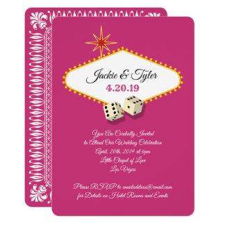 Las Vegas-Festzelt-Hochzeit in der Magenta Karte