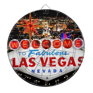 Las Vegas-Geschenke Dartscheibe