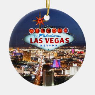 Las Vegas-Geschenke Keramik Ornament