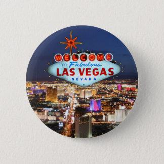 Las Vegas-Geschenke Runder Button 5,7 Cm