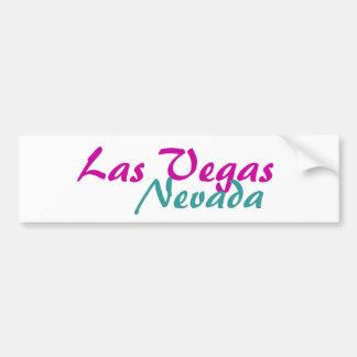Las Vegas Nevada Autoaufkleber