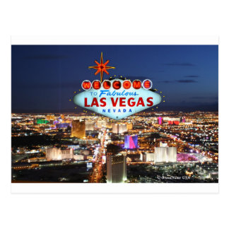 Las Vegas-Postkarte Postkarte