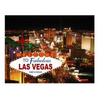 Las Vegas-Streifen-Postkarte Postkarte