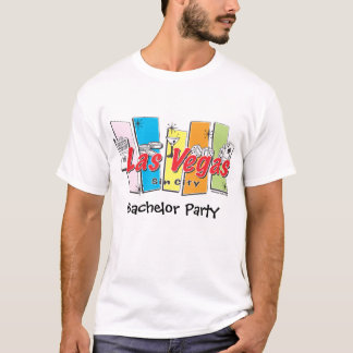 Las- Vegasjunggeselle-Party T-Shirt