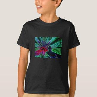 Laser auf DJ scherzt T-Shirt
