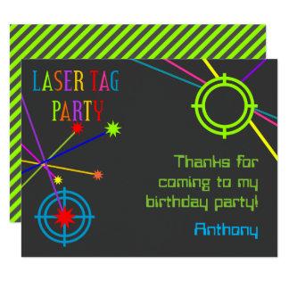 Laser-Umbau-Party-Geburtstag danken Ihnen Karten 10,8 X 14 Cm Einladungskarte