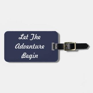 Lassen Sie das Abenteuer Gepäck-Umbau anfangen Gepäckanhänger