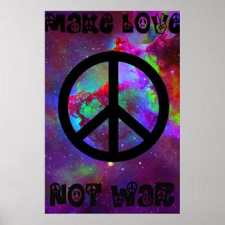 Lassen Sie Liebe nicht kämpfen I Poster