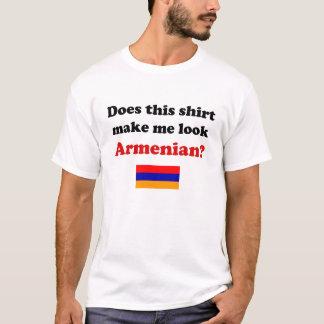 Lassen Sie mich die hellen Shirts der armenischen