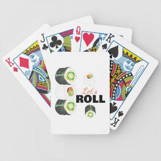 Lässt Rolle Bicycle Spielkarten