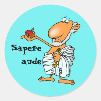 Latein: Sapere Aude Sticker