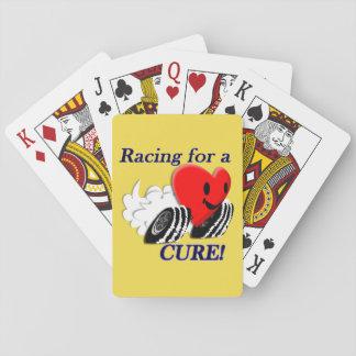 Laufen für eine Heilung Spielkarten
