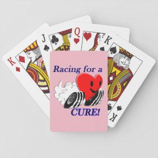 Laufen für eine Heilungs-Karten Spielkarten