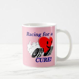 Laufen für eine Heilungs-Tasse Kaffeetasse