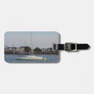 Laufen von Keelboat Gepäckanhänger