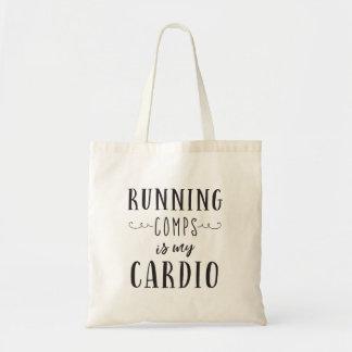 Laufendes Comps ist meine Herz Taschen-Tasche Tragetasche