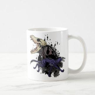 Laufendes Monster Kaffeetasse