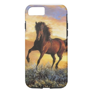 Laufendes Pferd iPhone 8/7 Hülle