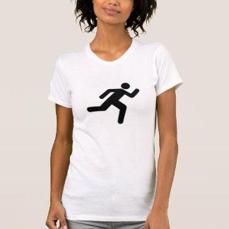 Laufendes T-Shirt kann das Schwitzen, Euphorie