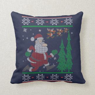 Laufendes Weihnachten Kissen