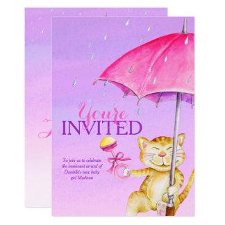 Launische Katzeneinladungen des 12,7 X 17,8 Cm Einladungskarte