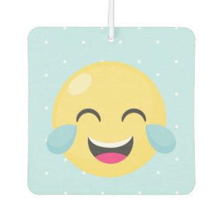 Laute Emoji Punkte heraus lachen Lufterfrischer