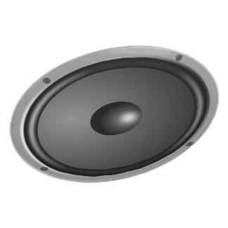 Lautsprecher-Platte Flacher Teller
