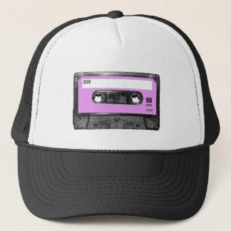 Lavendel-Aufkleber-Kassette Truckerkappe