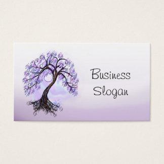 Lavendel-Baum des Lebens schließen an Ihren Kunden Visitenkarte